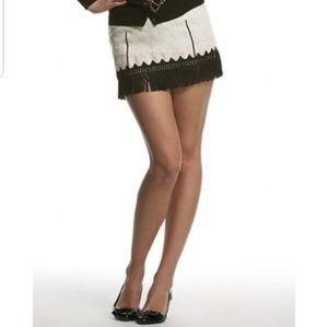 Free People Fringe Skirt